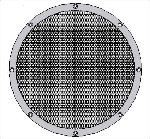 Stainless Steel 316 Mesh Filter Plates