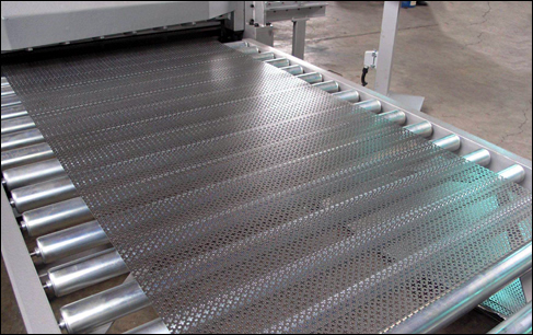 Metal Nets Flattening Process