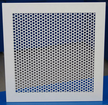 Perforated Aluminum for Ventilation