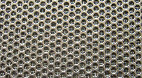 SUS 304 Stainless Steel Perforated Sheet for Pleated Filter Element Manufacture