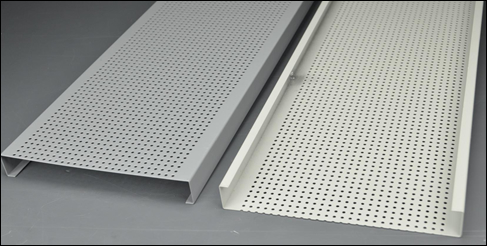 Aluminum sheets for ceiling tiles white painted or anodized aluminum finish
