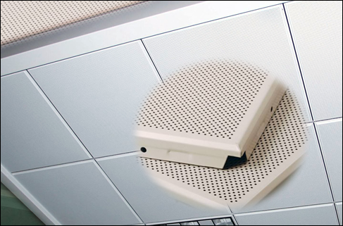 Round hole perforated mesh for ceiling and cladding uses