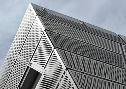 SS Perforated Sheets for Exterior Decoration